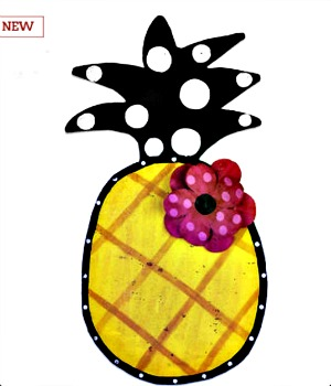 Pineapple Door Hanger**NOW AVAILABLE**