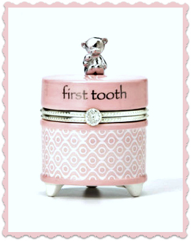 Pink First Tooth Keepsake Box **NOW AVAILABLE**