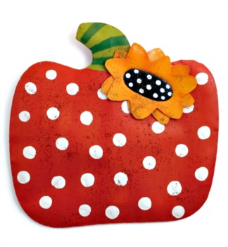 Polka Dot Pumpkin Door Hanger **NEW - NOW AVAILABLE**
