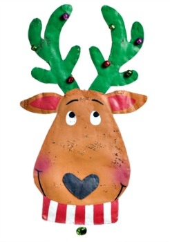 Reindeer Head Door Hanger