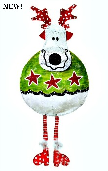 Roly Poly Reindeer Door Hanger**SOLD OUT**