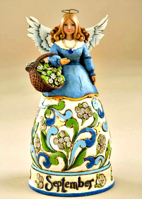 September Birth Month Angel By Jim Shore Heartwood Creek