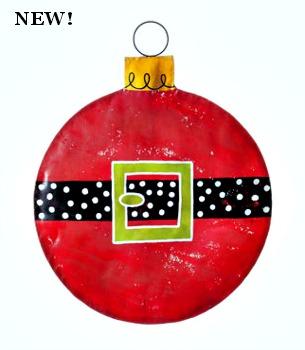 Santa Belt Ornament Door Hanger