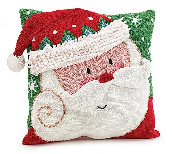 Christmas Pillows Part - 33: Plush Santa Claus Pillow