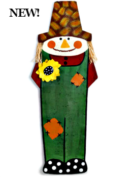 Scarecrow with Sunflower Door Hanger **NEW - NOW AVAILABLE**