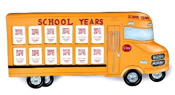 School Years Bus Frame