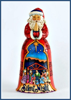 Silent Night Santa Figurine **SOLD OUT**