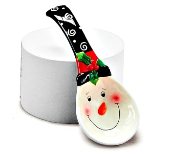 Snowman Spoon Rest  **SOLD OUT**