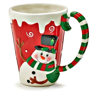 Snowy Snowman Mug **SOLD OUT**