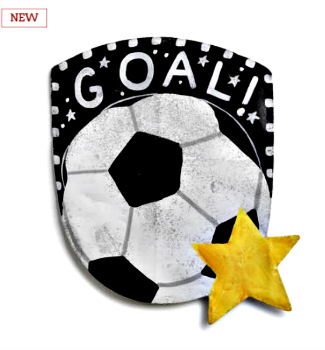 Soccer Ball Door Hanger **NEW - NOW AVAILABLE**
