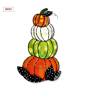 Stacked Pumpkins Door Hanger **SOLD OUT**