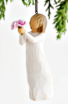 Thank You Ornament from Willow Tree by Susan Lordi **NEW - NOW AVAILABLE**