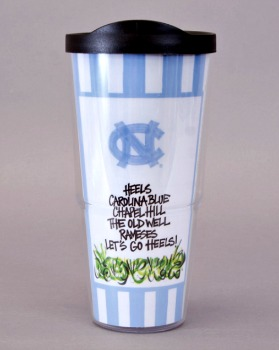 UNC Tumbler with Lid by Magnolia Lane