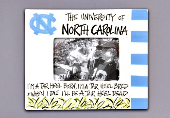 UNC Ceramic Photo Frame