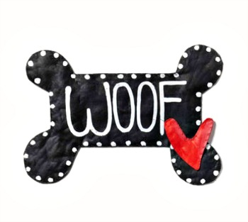 Woof Bone Door Hanger