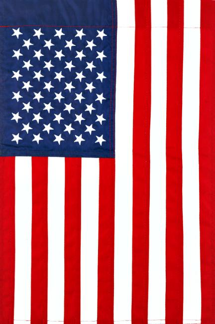 Applique American Mini Garden Flag