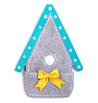Birdhouse with Pocket Door Hanger **NEW - NOW AVAILABLE**