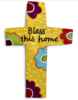 Bless This Home Cross Door Hanger **SOLD OUT**