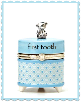 Blue First Tooth Keepsake Box **NOW AVAILABLE**