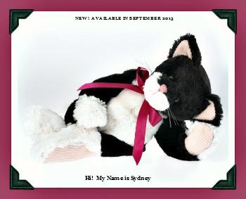 Boyds Plush Cuddle-Bums Cat