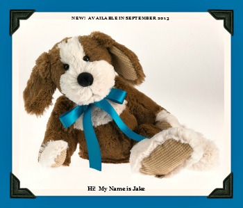 Boyds Plush Cuddle-Bums Dog