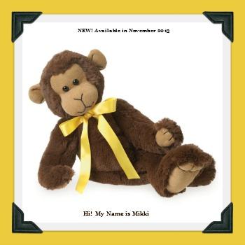Boyds Plush Cuddle-Bums Monkey