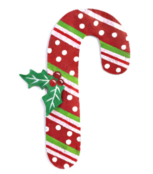 Candy Cane Door Hanger **NEW - SOLD OUT**