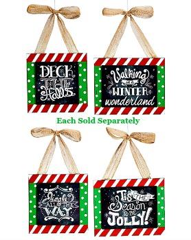 Chalkboard Message Ornaments **NEW**