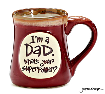 Dad SuperPower Mug
