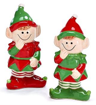Elf Salt & Pepper Shaker Set **NEW**SOLD OUT**