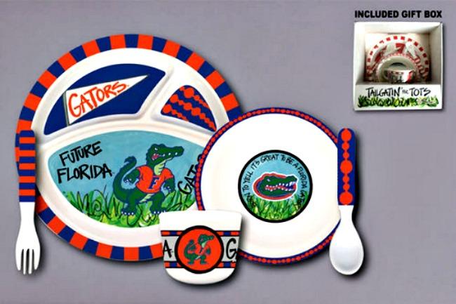 Florida Gators Tailgatin' for Tots Dinnerware Set **NEW**