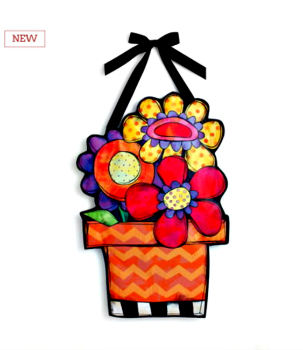 Flower Pot Banner **NEW - NOW AVAILABLE**