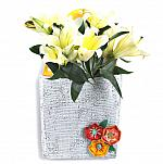 Flower Basket with Pocket Door Hanger **NEW - NOW AVAILABLE**