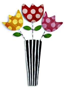 Flowers in Vase Door Hanger **NEW - SOLD OUT**