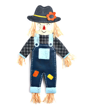Friendly Scarecrow Door Hanger **NEW - LIMITED SUPPLY**