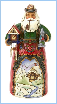 German Santa Figurine by Jim Shore Heartwood Creek **SOLD OUT**