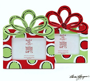 God's Gift Polka Dots Frame with Bow