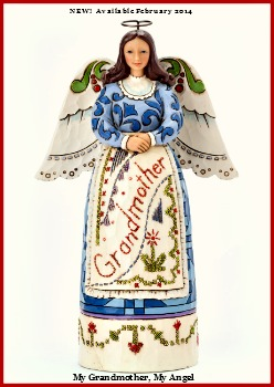 My Grandmother, My Angel - Grandmother Angel Figurine **SOLD OUT**