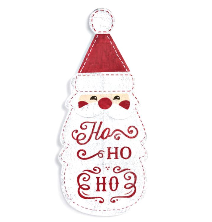 Ho Ho Ho Santa Head Door Hanger **NEW-NOW AVAILABLE**