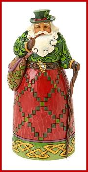 Irish Santa Figurine by Jim Shore Heartwood Creek