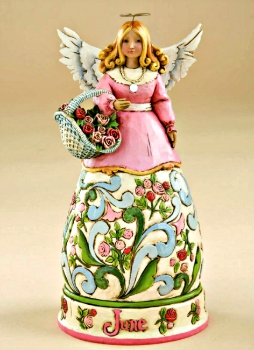 June Birthday Angel by Jim Shore Heartwood Creek **SOLD OUT**