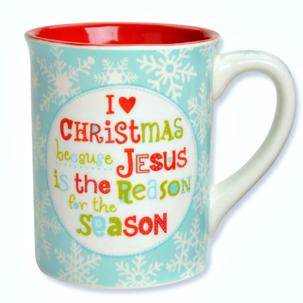 Jesus is the Reason Mug by Enesco
