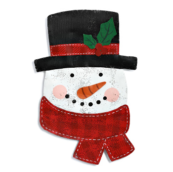 Jolly Snowman Door Hanger **NEW - NOW AVAILABLE**