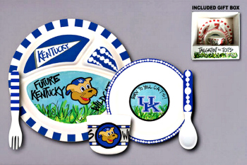 Kentucky Wildcats Tailgatin\' for Tots Dinnerware Set **NOW AVAILABLE**