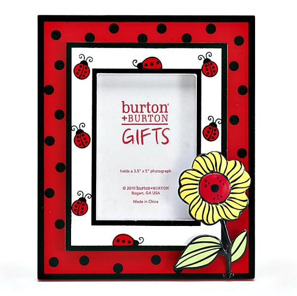 LadyBug Sunflower Frame