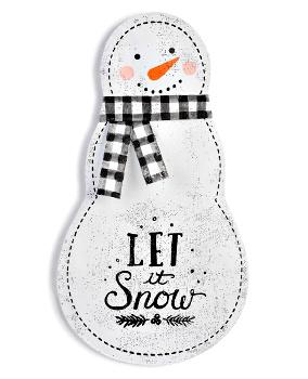 Let it Snow Snowman Door Hanger **NEW - ON ORDER**
