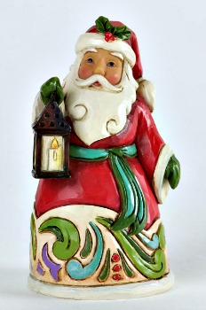 Miniature Santa with Lantern Figurine **SOLD OUT**