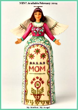 My Mother, My Angel - Mother's Day Angel Figurine by Jim Shore