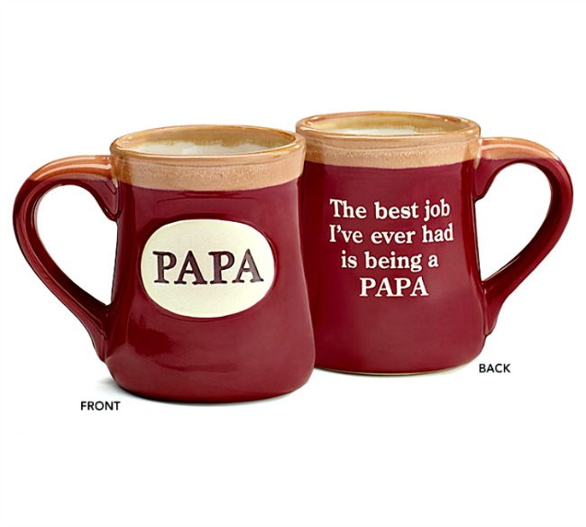 Papa Message Mug **NOW AVAILABLE**