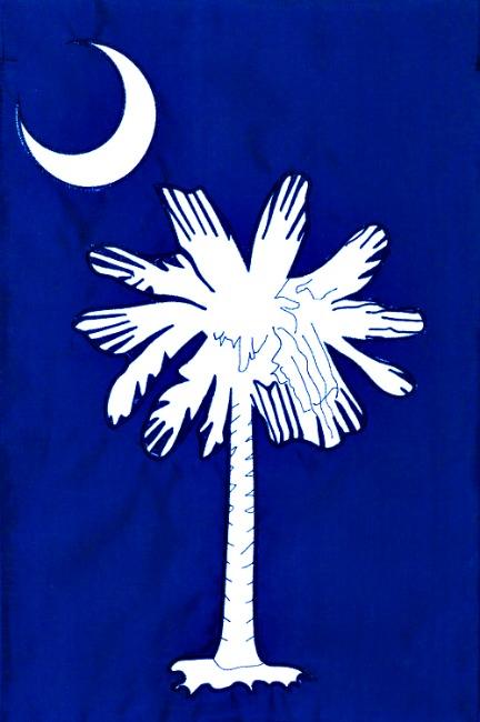 Palmetto Moon Applique Mini Garden Flag **NEW**